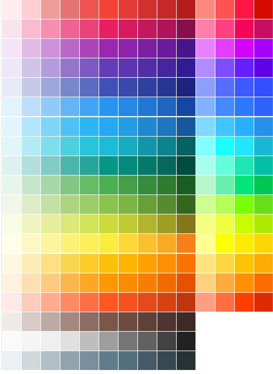 GoogleツールのMaterial Colorでウェブ配色を設定する